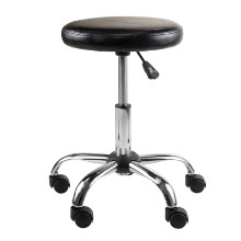 Clark Round Cushion Swivel Stool with adjustable height