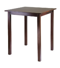 94134 Parkland Square High Pub Table, Walnut