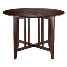 "Alamo Double Drop Leaf Round 42"" Table Mission"