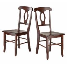 94208 Renaissance 2-Pc Set Key Hole Back Chairs