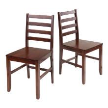 Hamilton 2-Pc Ladder Back Chair