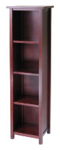 Milan Storage Shelf or Bookcase 5-Tier, Tall
