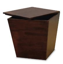 Mesa storage cube, end table
