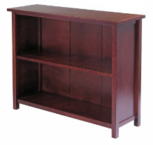 Milan Storage Shelf or Bookcase, 3-Tier, Long