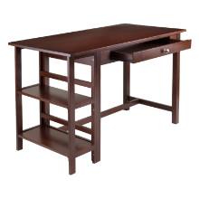 Velda Writing Desk with 2 Shelves