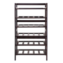 94622 Silvi Wine Rack, 30-Bottle, - 6-Tier