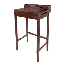 94628 Brighton High Desk with 2 Drawers