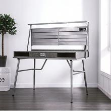 CM-DK5566 Mccredmond silver metal frame industrial style writing desk