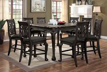 CM3185DG-PT-7PC 7 pc Astoria grand coleman petersburg ii dark gray finish counter height dining table set