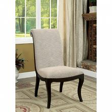 CM3353SC Set of 2 ornette espresso finish wood dining chairs