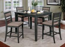 CM3607PT-5PK 5 pc Winston porter fall fafnir gray finish wood counter height dining table set