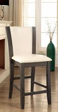 CM3710GY-PC-2PK Set of 2 Hokku designs uptown manhattan i gray finish wood counter height chairs