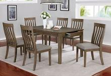 CM3739T-7PC 7 pc One allium way astilbe light oak finish wood dining table set