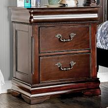 CM7260N Mandura luxurious english style cherry finish wood nightstand end table