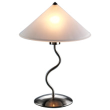 Doe Li Contemporary Desk Lamp in Brushed Satin Finish