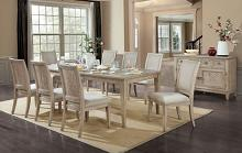 FOA3786T 9 pc Canora grey mel cerise natural tone finish wood dining table set