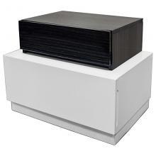 Best Master Ireland-NS Ireland modern style gray / white lacquer finish wood nightstand