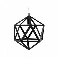 L731228 Mea black metal geometric shaped hanging ceiling lamp