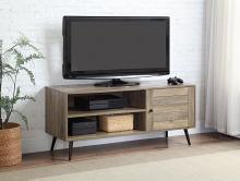 Acme LV00746 George oliver Baina II mid century retro modern driftwood multi tone finish wood tv stand