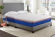 "Nautica calm CK 10"" medium firm gel memory foam Cal king cooling microtec gel memory foam mattress"