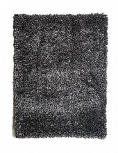 "RG4120 Annmarie 3"" thick black mix shag area rug 5' x 7'"