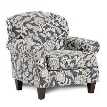 SM8190-CH-FL Canora grey porthcawl floral pattern fabric accent chair