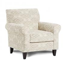 SM8192-CH Canora grey saltney ivory chenille patterned fabric accent arm chair