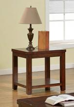 CM4107E Estell dark cherry finish wood end table