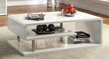 CM4057WH-C Ninove I white finish wood modern twist coffee table
