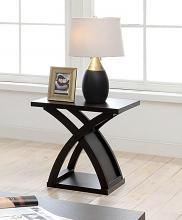 CM4641E Arkley espresso finish wood end table
