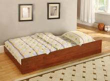 Primo collection slide under bed trundle with wood slat kit