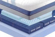 "Sensair Horizon Cal King 14"" thick 6 chamber sleep air adjustable mattress"