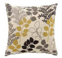"""PL687S Set of 2 jill multi colored fabric 18"""" x 18"""" throw pillows"""