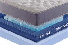 """Sensair Stardust Cal king 10"""" thick 2 chamber sleep air adjustable mattress"""