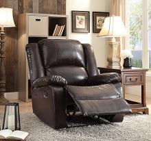 Acme 59470 Vita espresso faux leather recliner chair
