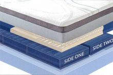 "Sensair Nimbus Cal King 10"" thick 6 chamber sleep air adjustable mattress"