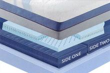 "Sensair Morning sun Queen 14"" thick 2 chamber sleep air adjustable mattress"